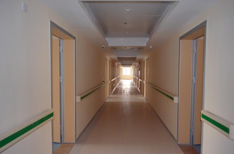 长沙珂信肿瘤医院病房过道