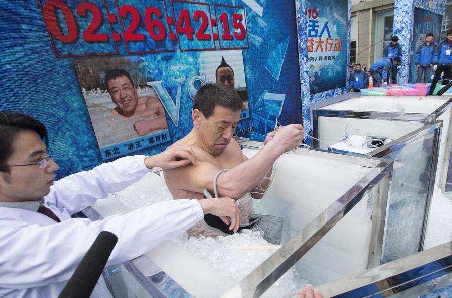 中国冰人陈可财获胜,仍坚持为贫困肿瘤患者争取救助时间至02:26:42:15